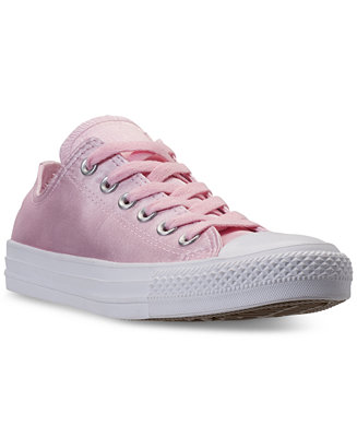 5d472595e4b3 Converse Women s Chuck Taylor Ox Satin Casual Sneakers from Finish Line -  Macy s