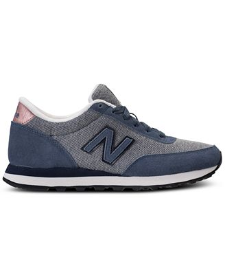 New Balance 501 Blue Sporty Sneakers