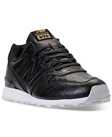 New Balance Women's 696 Leather Casual Sneakers from Finish Line