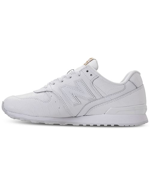 4691949a5bfd9 ... New Balance Women's 696 Leather Casual Sneakers from Finish Line ...