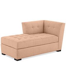 Roxanne II Performance Fabric Modular Chaise - Custom Colors, Created for Macy's