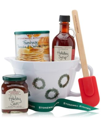 Stonewall Kitchen Breakfast Batter Bowl Gift Set Gourmet Food