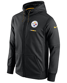 Nike Men's Pittsburgh Steelers Therma Full-Zip Hoodie