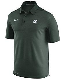 Nike Men's Michigan State Spartans Elite Coaches Polo