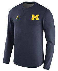Nike Men's Michigan Wolverines Modern Crew Sweatshirt