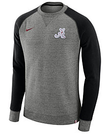 Nike Men's Alabama Crimson Tide AW77 Crew Sweatshirt