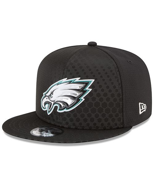 8ce9a00a1 ... New Era Philadelphia Eagles On Field Color Rush 9FIFTY Snapback Cap ...