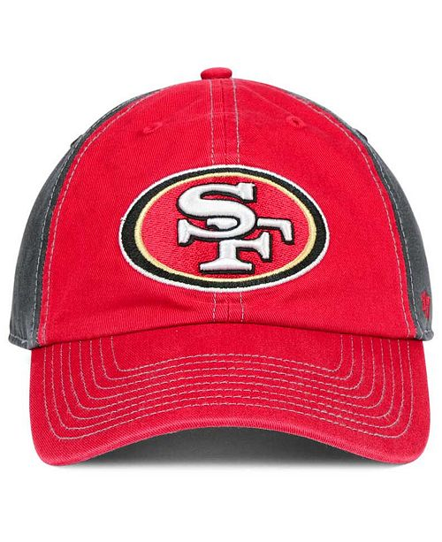 sports shoes 8f83c 3e11e ... authentic 47 brand san francisco 49ers transistor clean up cap sports  fan shop by lids men