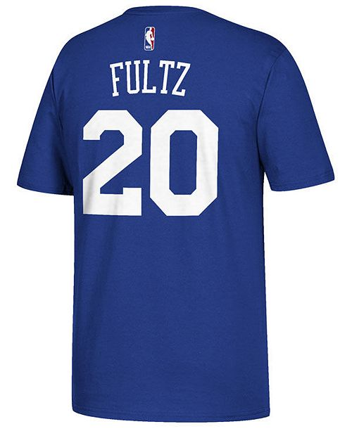 adidas Men's Markelle Fultz Philadelphia 76ers Player T-Shirt