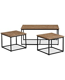 Jarren 3-Pack Table Set, Quick Ship