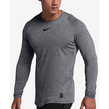 Nike Mens Pro Fitted Long Sleeve Training Shirt