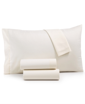 Microfiber Twin 3-Pc Sheet Set, Created for Macy's Bedding