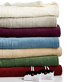 Biddeford Microplush Heated Blankets