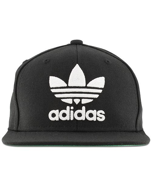 532bf20efc9 adidas Men s Originals Flat-Brim Cap  adidas Men s Originals Flat-Brim ...