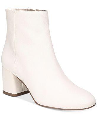 Franco Sarto Jubilee Block Heel Booties