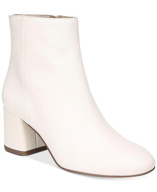 Franco Sarto Jubilee Block Heel Booties 0pgRGfx0KD