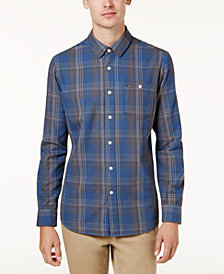 Volcom Men's Strayer Plaid Flannel Shirt, Created for Macy's