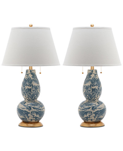 Safavieh color swirls set of 2 table lamps lighting lamps for safavieh color swirls set of 2 table lamps audiocablefo