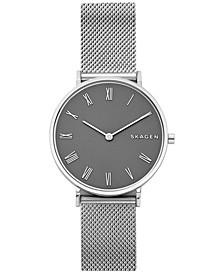 Women's Hald Stainless Steel Mesh Bracelet Watch 34mm
