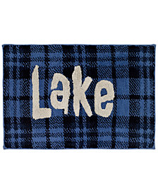 Avanti Lakeville Cotton Plaid Bath Rug
