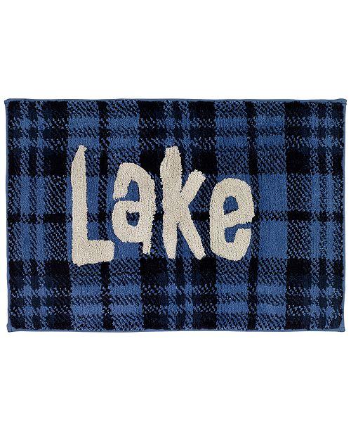 Avanti Lakeville Cotton Plaid Bath Rug