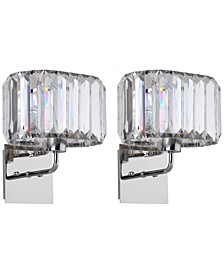 Athena Set of 2 Sconces