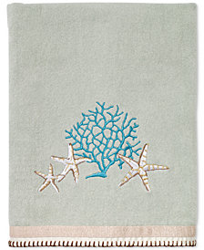 Avanti Beachcomber Cotton Embroidered Bath Towel