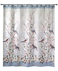 Love Nest Shower Curtain Collection