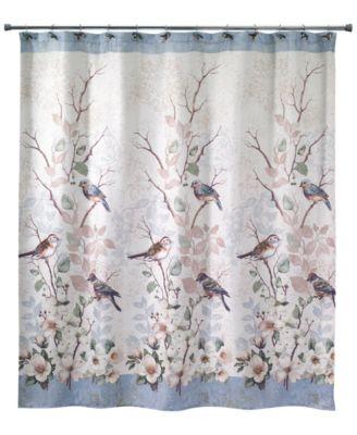 Pressed Flower Shower Curtain ...