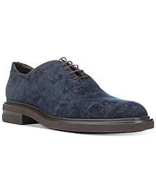 Donald Pliner Men's Eduardo Distressed Velvet Oxfords