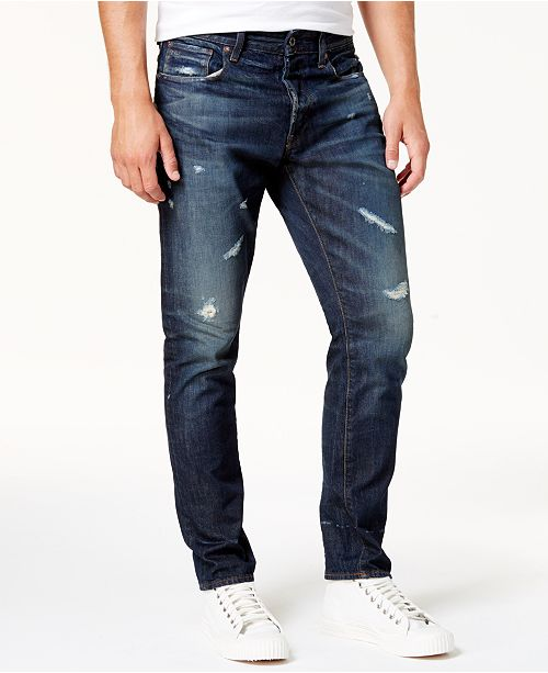 G Star Raw 3301 Men's Tapered Jeans & Reviews Jeans Men