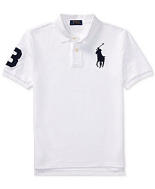 Ralph Lauren Mesh Cotton Polo, Big Boys