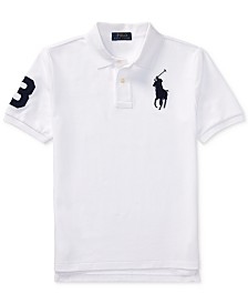 Polo Ralph Lauren Big Boys Mesh Cotton Polo