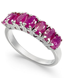 Ruby Seven-Stone Ring (2-3/8 ct. t.w.) in Sterling Silver