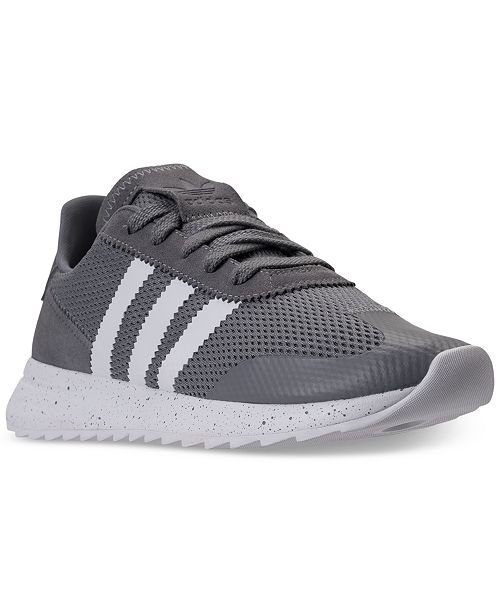 save off d28c2 6a61b ... adidas Women s Flashback Casual Sneakers from Finish ...