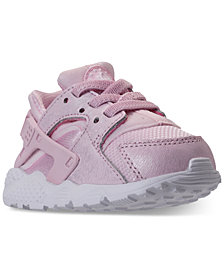 Nike Toddler Girls' Air Huarache Run Ultra Running Sneakers from Finish Line
