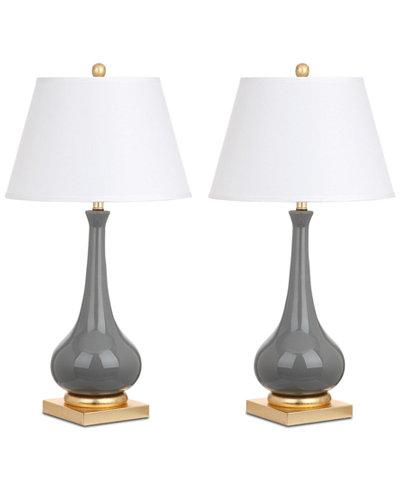 Safavieh jolie set of 2 table lamps lighting lamps for the safavieh jolie set of 2 table lamps audiocablefo