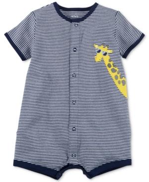 Carters Giraffe Striped Cotton Romper Baby Boys (024 months)