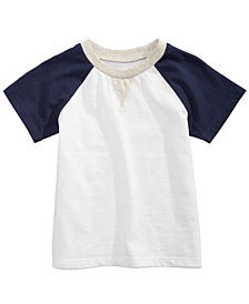 First Impressions Cotton Raglan T-Shirt, Baby Boys, Created for Macy's