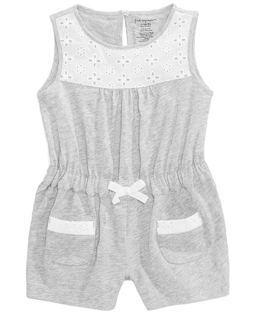 c5507995ade First Impressions Eyelet Romper