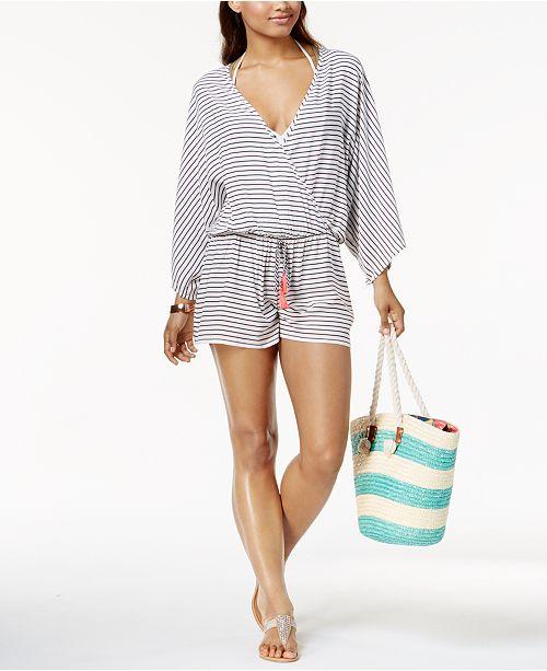 becb0a051e5 Vince Camuto Blossom Romper Cover-Up   Reviews - Swimwear - Women ...