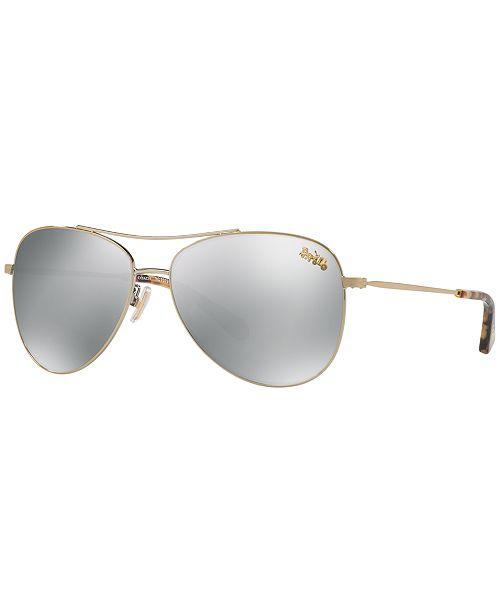 2cbef067f014 COACH Polarized Sunglasses, HC7079 & Reviews - Sunglasses by ...