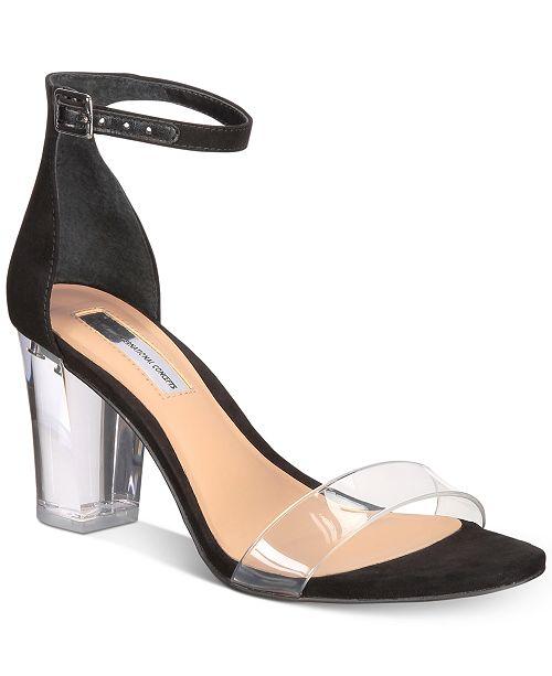 7a247c98118 ... INC International Concepts I.N.C. Kivah Clear Block Heel Two-Piece  Sandals