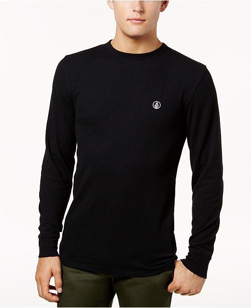 0aefa24c45a Volcom Men s Juan Largo Thermal Long-Sleeve T-Shirt   Reviews - T ...