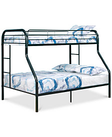Aldyn Kid's Twin/Full Bunkbed, Quick Ship