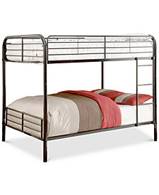 Bornell Kid's Full Bunkbed, Quick Ship