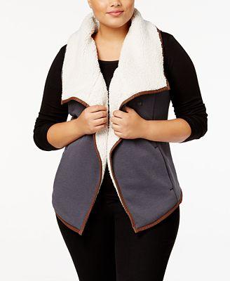 columbia plus size winter wander vest - jackets & blazers - plus