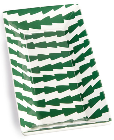Coton Colors Jungle Dart Scoop Rectangle Tray