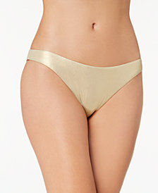 Trina Turk Medallion Metallic Hipster Bikini Bottoms