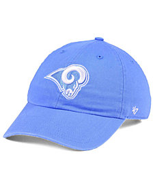 '47 Brand Women's Los Angeles Rams Pastel CLEAN UP Cap